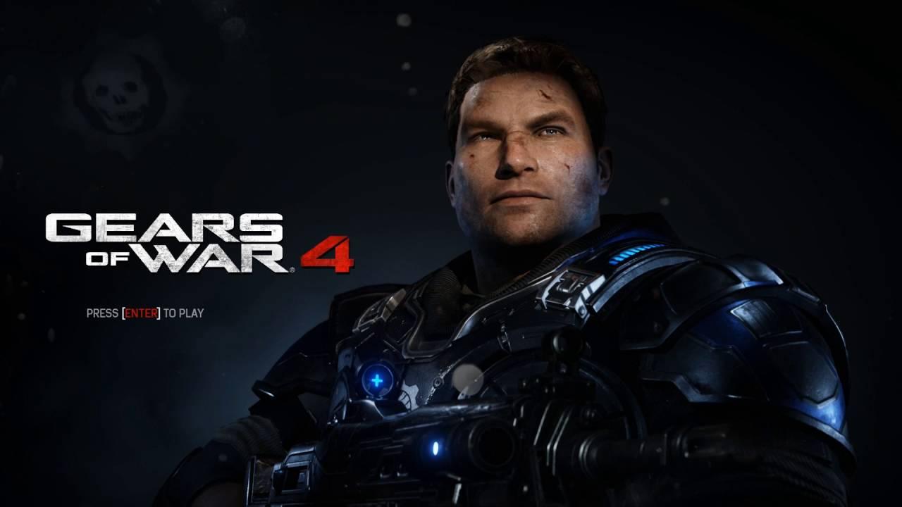 Gears Of War 4 Menu - HD Wallpaper