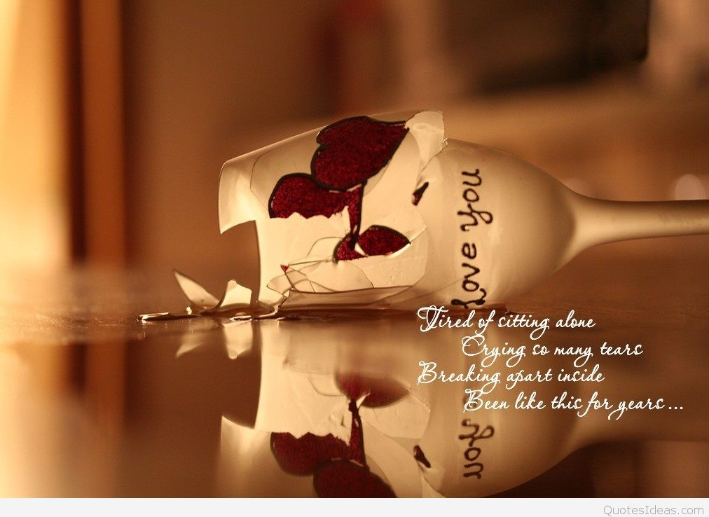 Alone Wallpapers With Quotes - HD Wallpaper