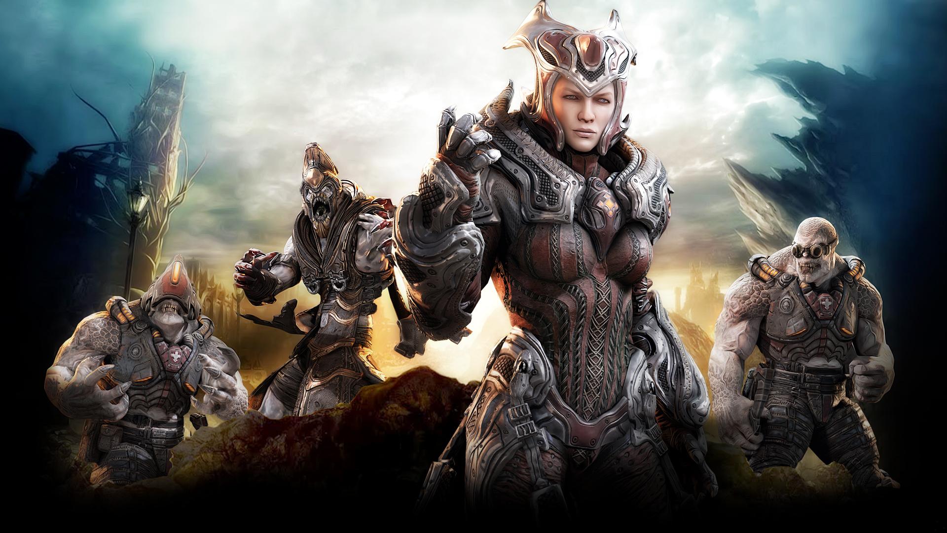 Gears Of War 5 Anya - HD Wallpaper
