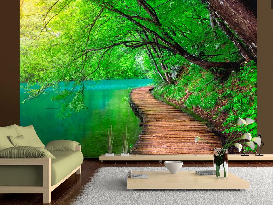 Mural Art Nature - HD Wallpaper