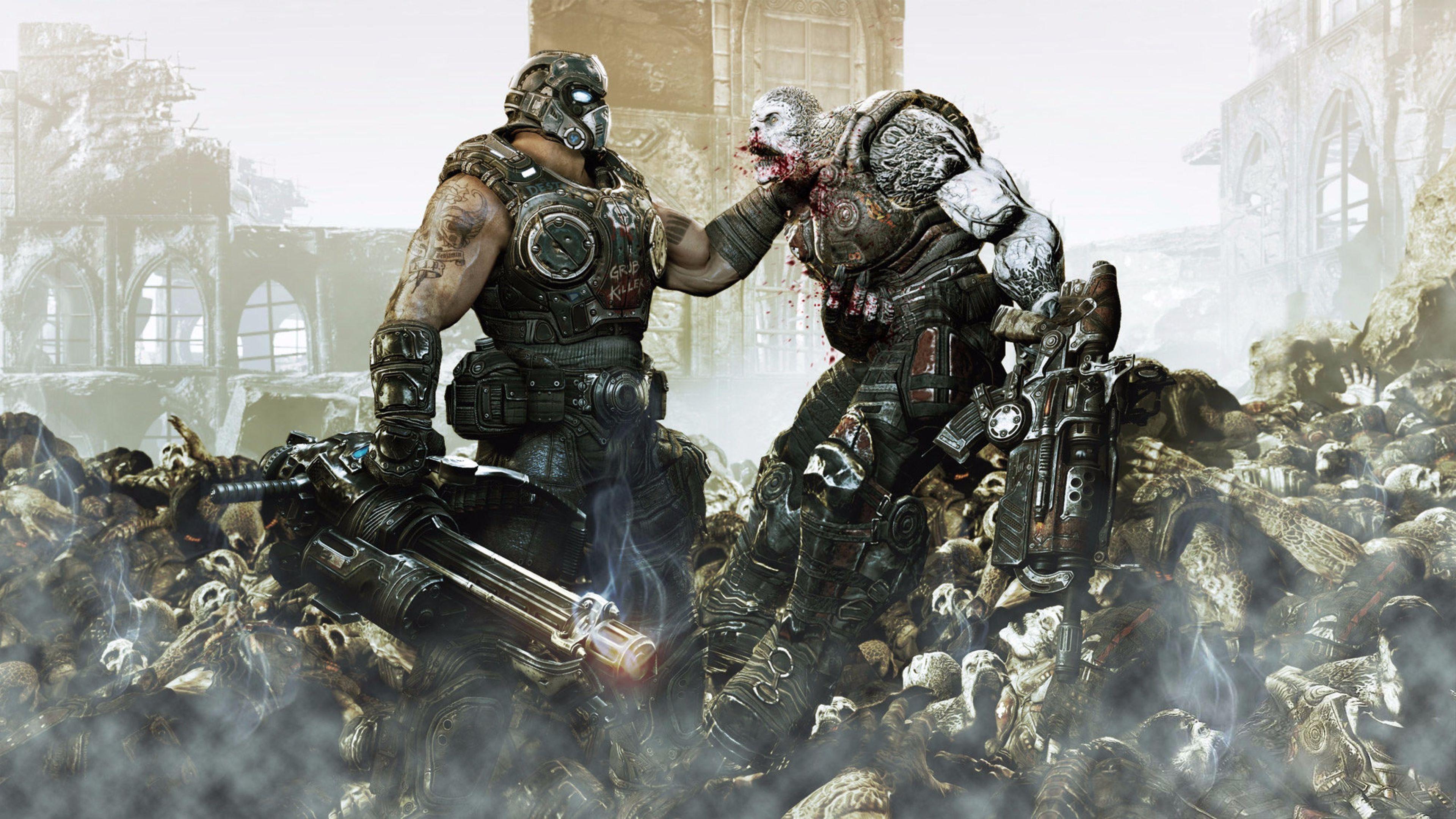 Gears Of War - HD Wallpaper