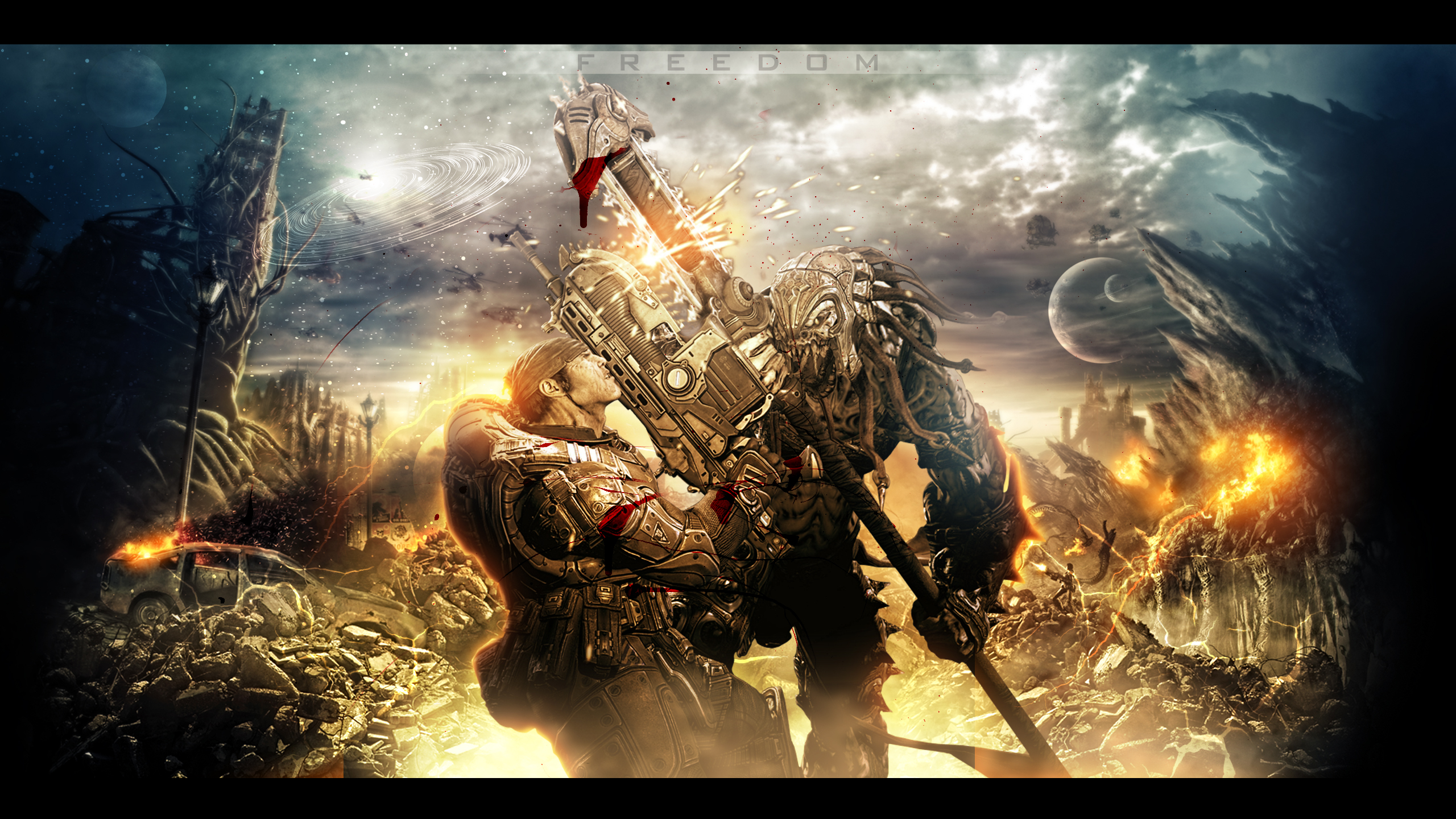 Gears Of War Wallpapers 2560x1440, - HD Wallpaper