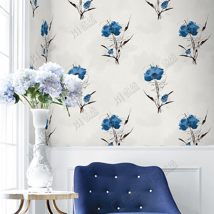 Made In China Cheap Price Wholesale Wall Paper Living - Flower Wallpaper For Wall - HD Wallpaper