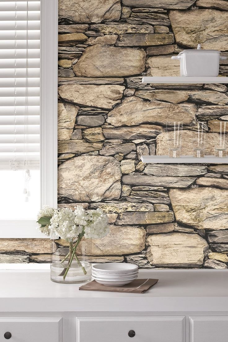 3d Rock Wallpaper Backsplash - HD Wallpaper