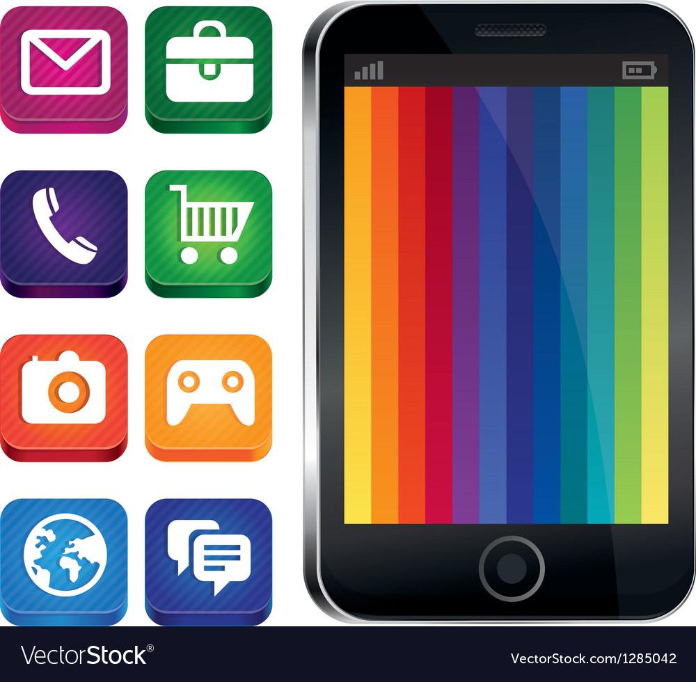 Touch Phone - HD Wallpaper