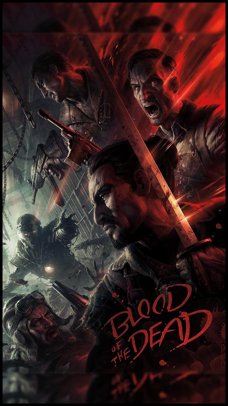 Call Of Duty Black Ops 4 Blood - HD Wallpaper