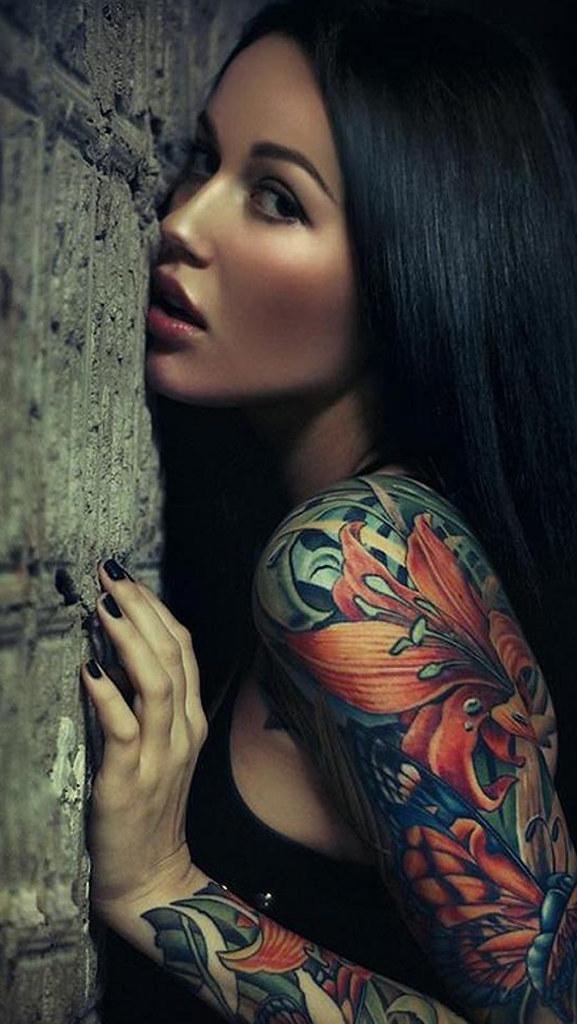 Tattoo Girl - HD Wallpaper