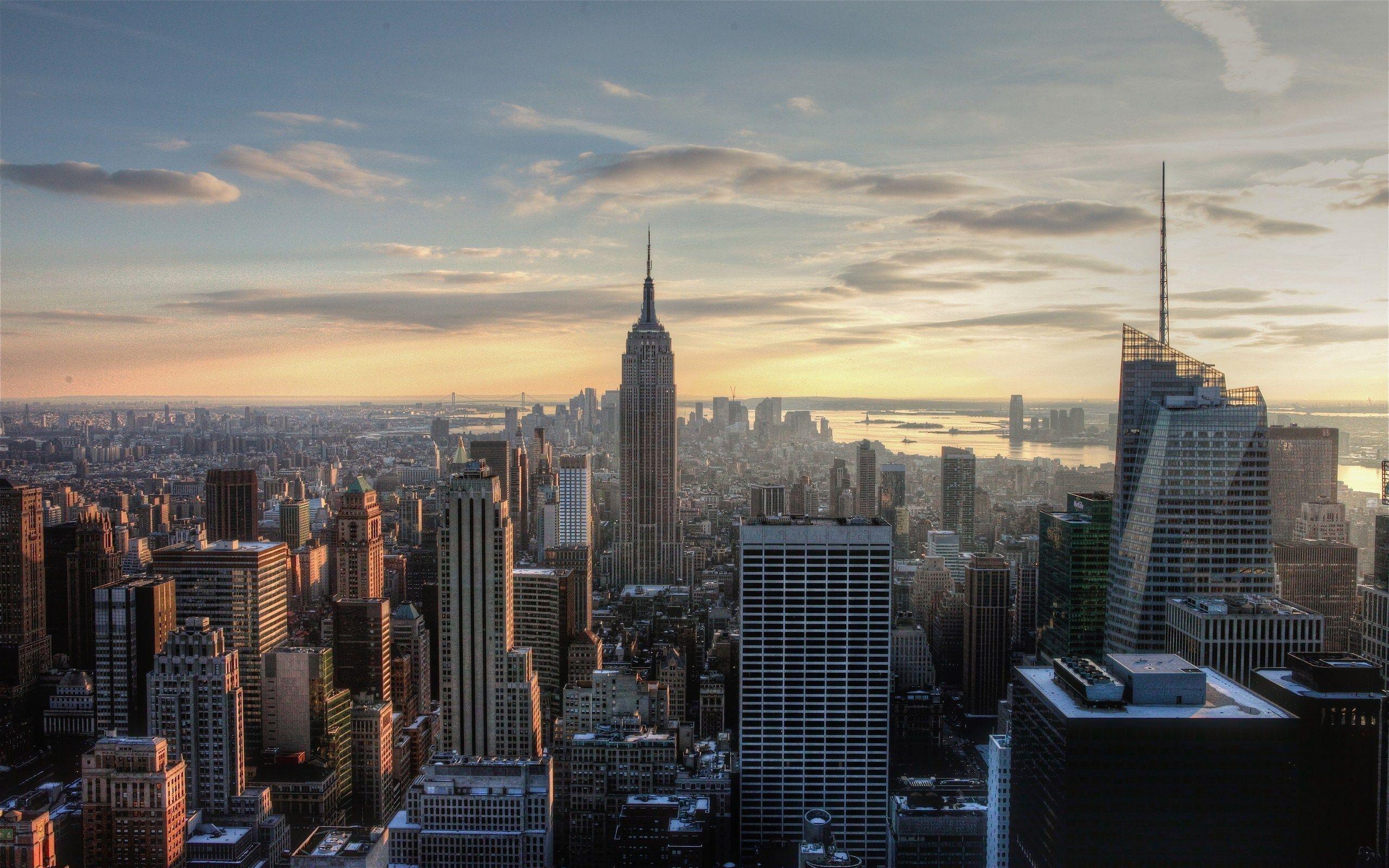 New York City Desktop Wallpaper 2560ã—1600 High Definition - New York City - HD Wallpaper