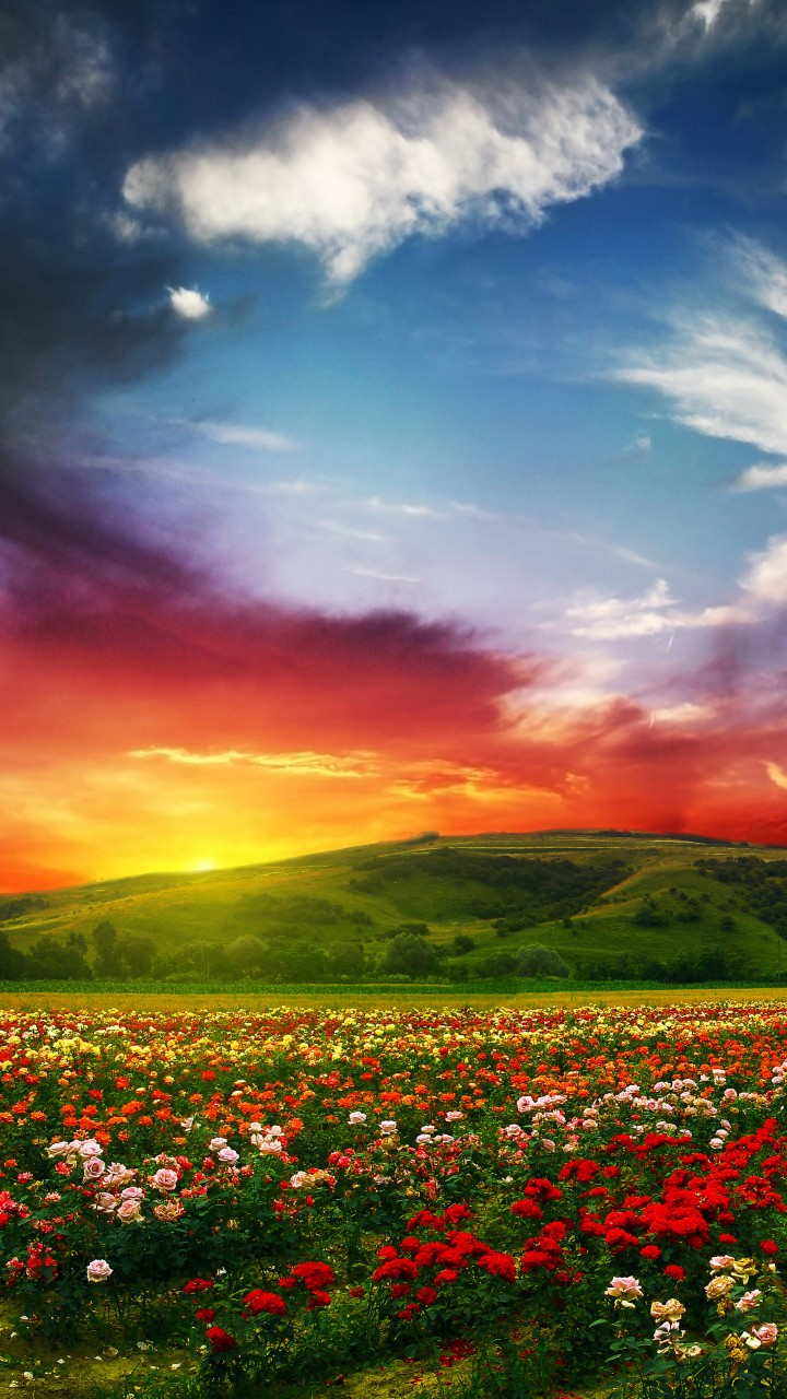 Most Beautiful Colorful Places On Earrh - HD Wallpaper