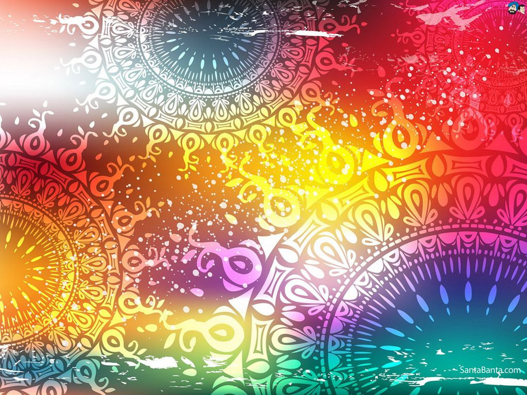 Abstract Wallpaper - Indian Abstract Art Background - HD Wallpaper