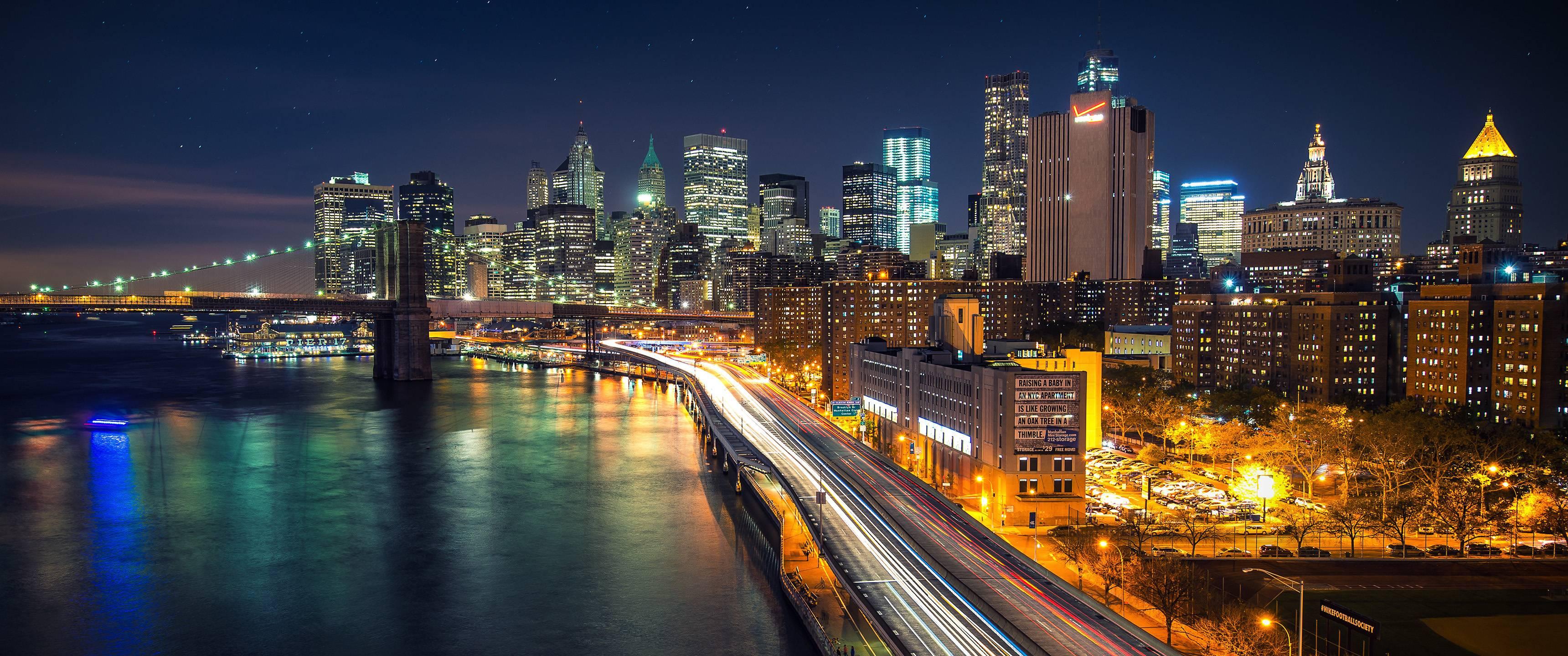 New York Ultra Wide - HD Wallpaper