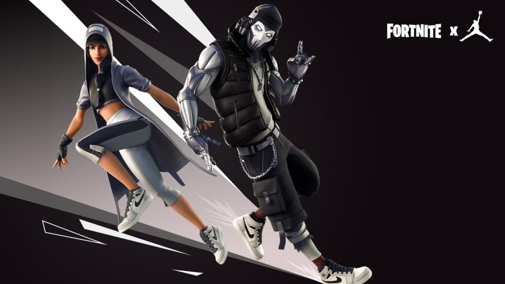paso Granjero ventilación  Fortnite X Jordan Wallpaper - Fortnite Hang Time Bundle - 1024x576  Wallpaper - teahub.io