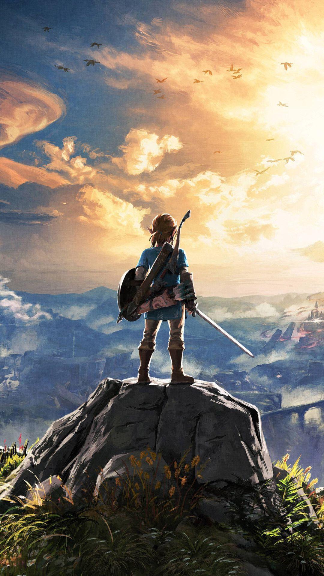 The Legend Of Zelda Iphone Wallpapers - Zelda Wallpaper Iphone - HD Wallpaper