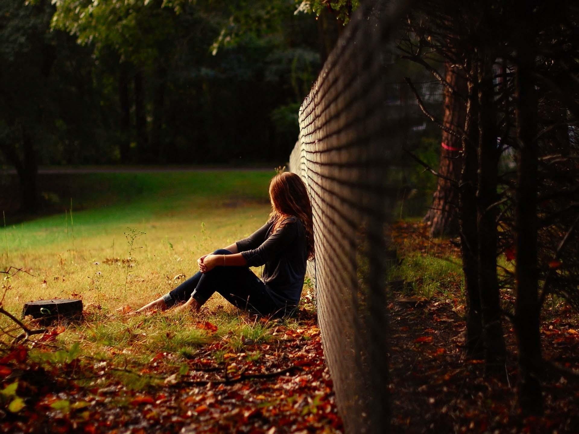 Sad Breakup Image For Girls Sad Girl Wallpapers, 43 - Sad Lonely Images Girl - HD Wallpaper
