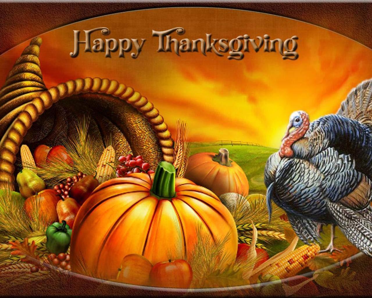 Happy Thanksgiving 2017 - HD Wallpaper