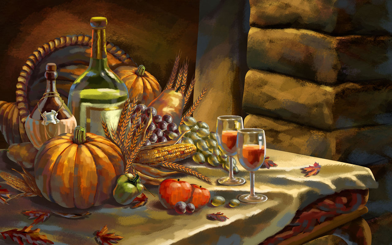 Happy Thanksgiving Hd - HD Wallpaper