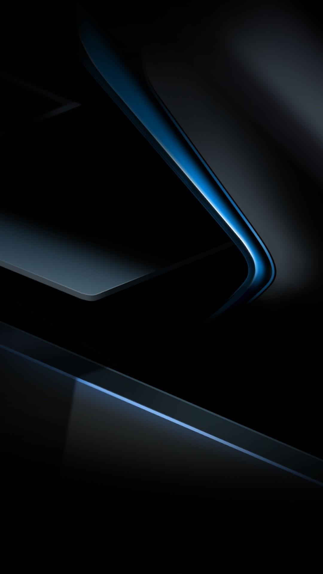 Black Blue Black And Blue Phone 1080x1920 Wallpaper Teahub Io
