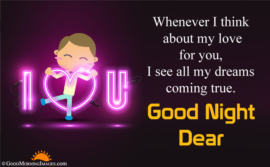Cute I Love You Good Night Wishes Message With Hd Wallpaper - Good Morning Quotes For My Love - HD Wallpaper