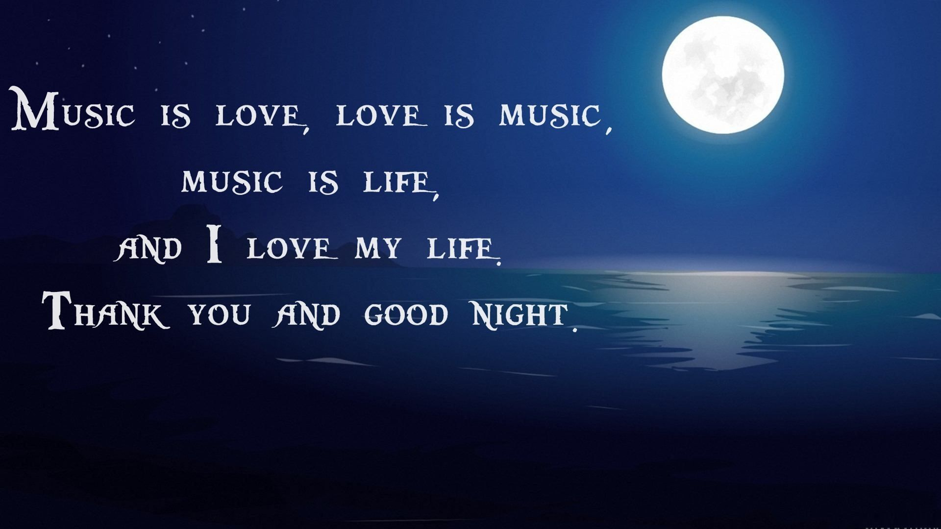 Good Night Images Hd With Quotes - HD Wallpaper