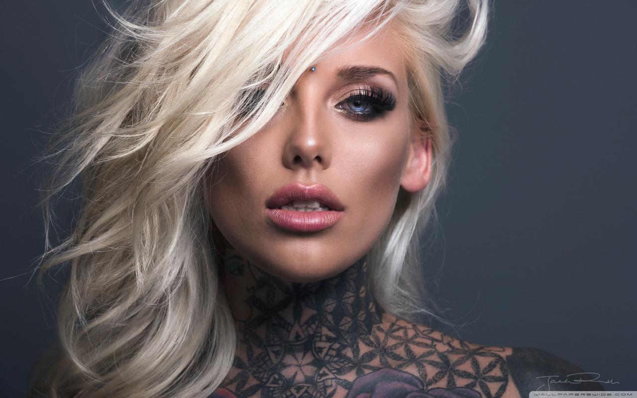 Tattoo Girl Wallpaper 1280x800, 2018 06 - Lauren Brock - HD Wallpaper