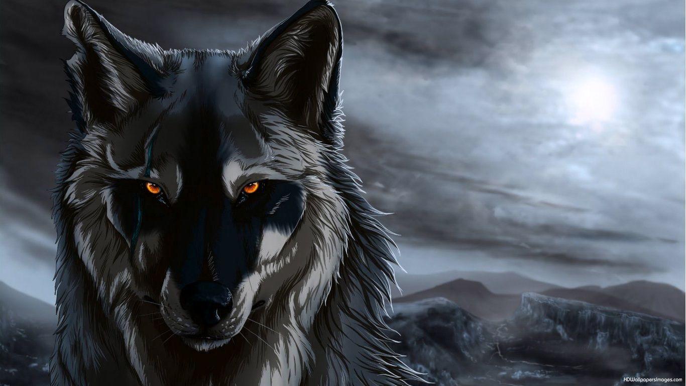 Wolf Anime Wallpaper Hd 1366x768 Wallpaper Teahub Io