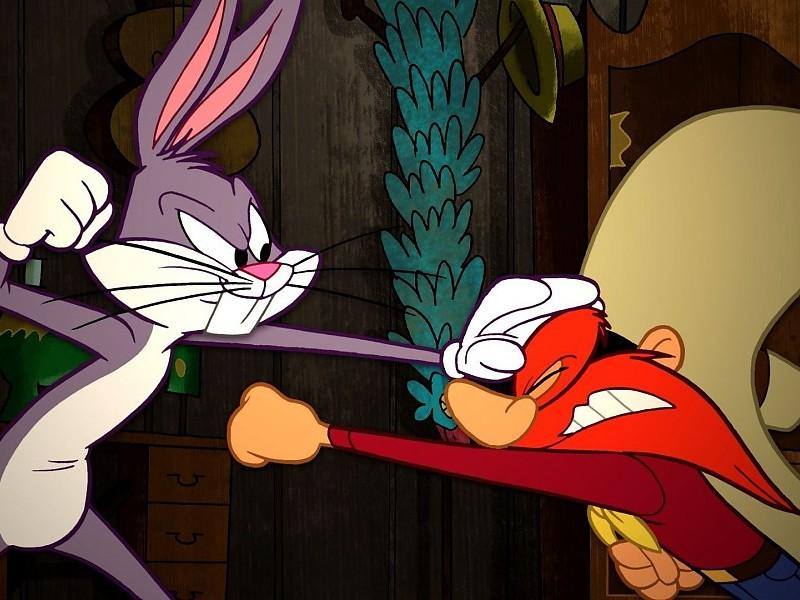 Bugs Bunny And Yosemite Sam Wallpaper - Imagenes De Bugs Bunny Para Fondo De Pantalla - HD Wallpaper