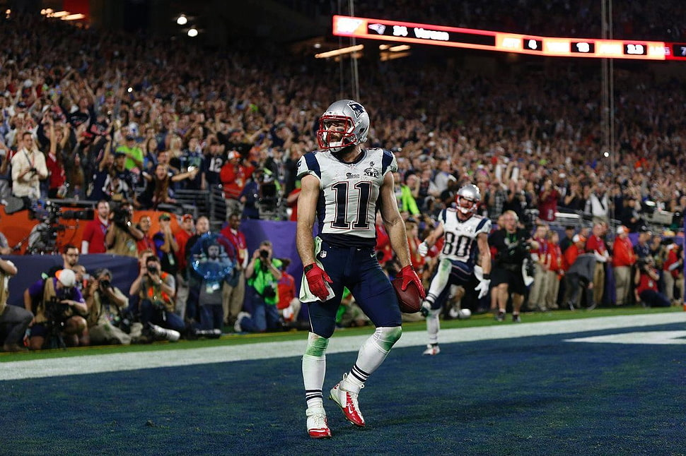 Tom Brady, Nfl, Super Bowl, Seattle Seahawks, New England - New England Patriots - HD Wallpaper