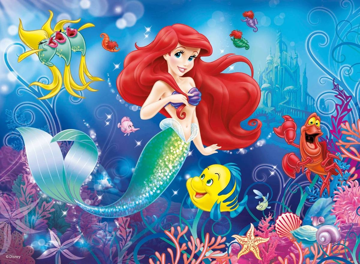 The Little Mermaid Hd Wallpapers - Little Mermaid - HD Wallpaper