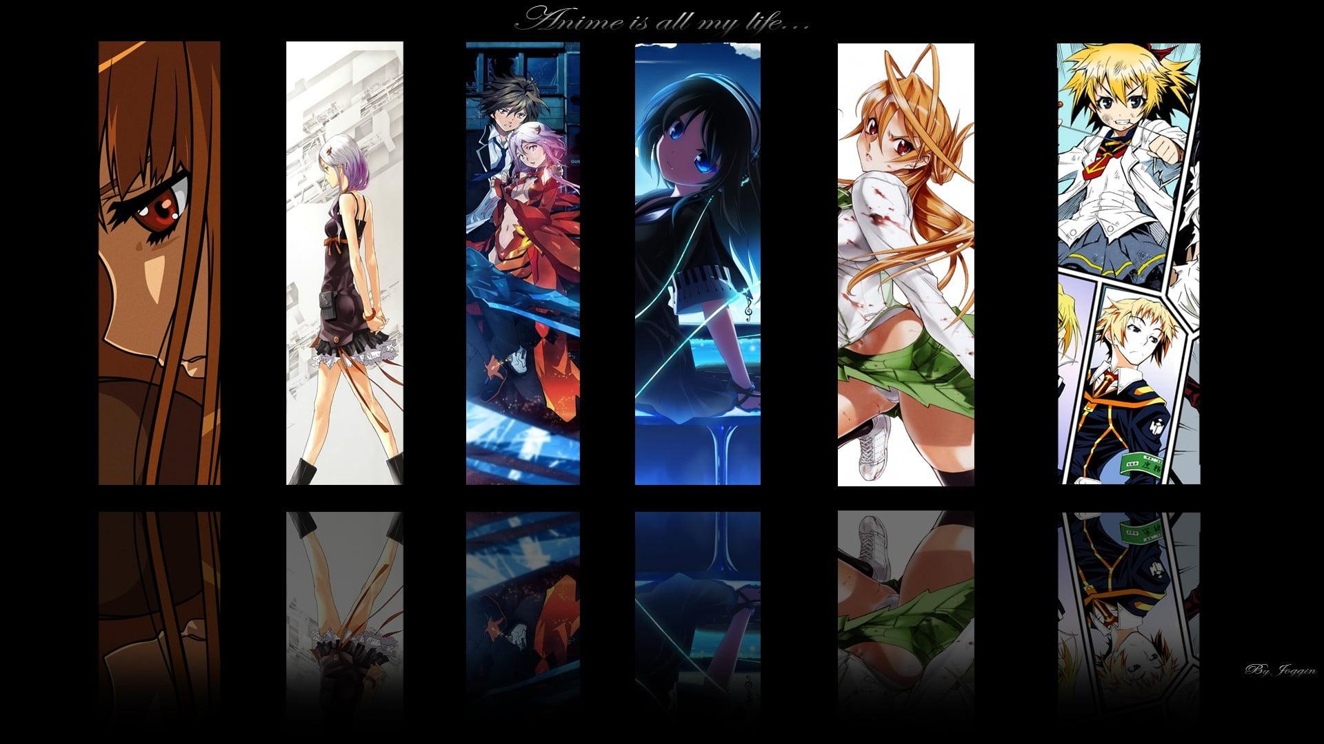 Imagenes 4k Anime High School Of The Dead - HD Wallpaper