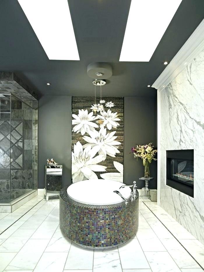 Modern Wall Murals Bathroom Wallpaper Murals Contemporary - Wall Modern Decoration For Bathroom - HD Wallpaper