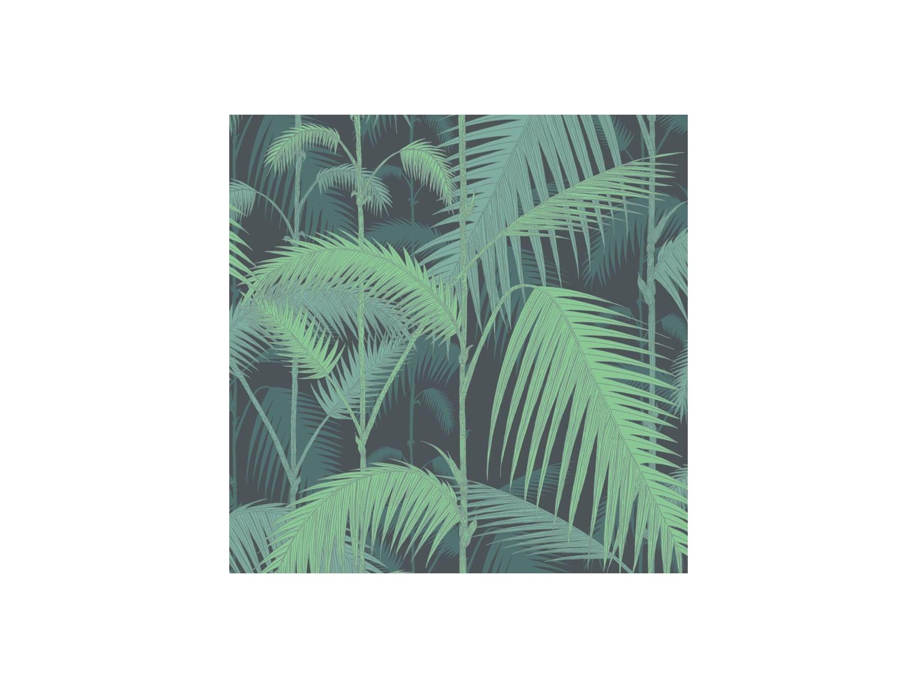 Hummingbirds Wallpaper - Palm Tree Print - HD Wallpaper