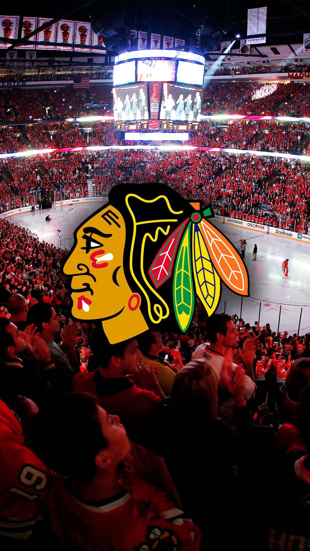 Chicago Blackhawks Hawks Hockey Nhl Iphone Lockscreens Chicago Blackhawks 1080x1920 Wallpaper Teahub Io