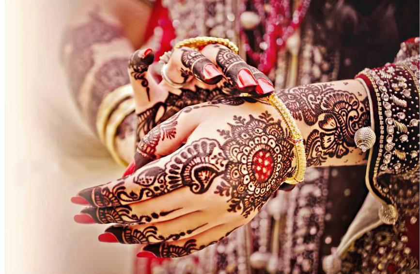 Dulhan Bridal Mehendi Pic Hwb28188 Bangles In Hand With Mehndi 867x565 Wallpaper Teahub Io