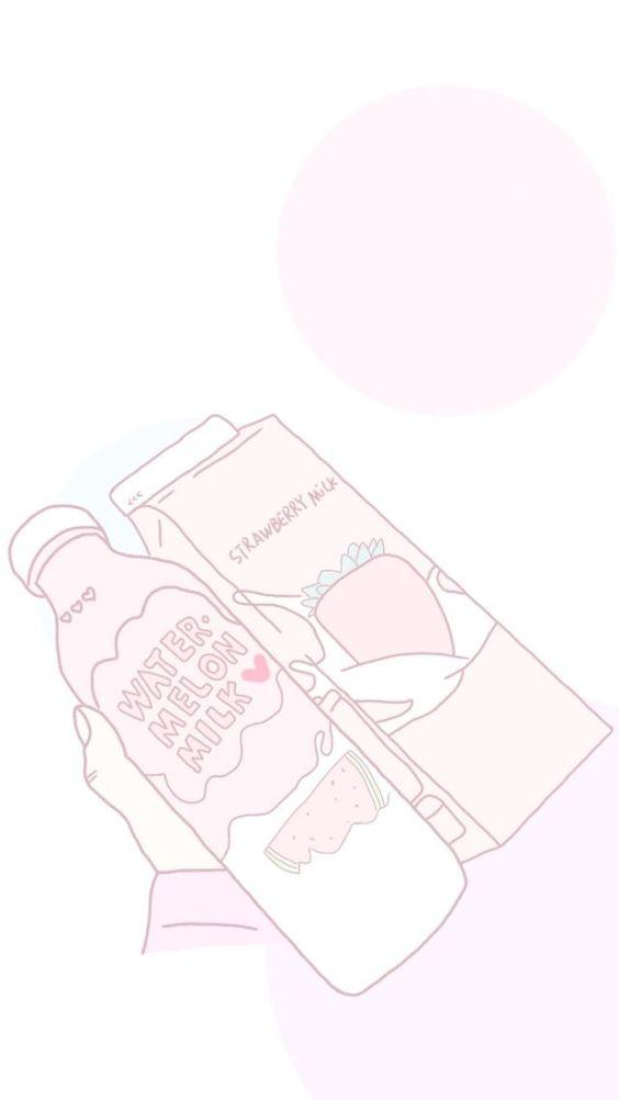 Aesthetic Pink And Anime Image Sketch 564x1002 Wallpaper Teahub Io