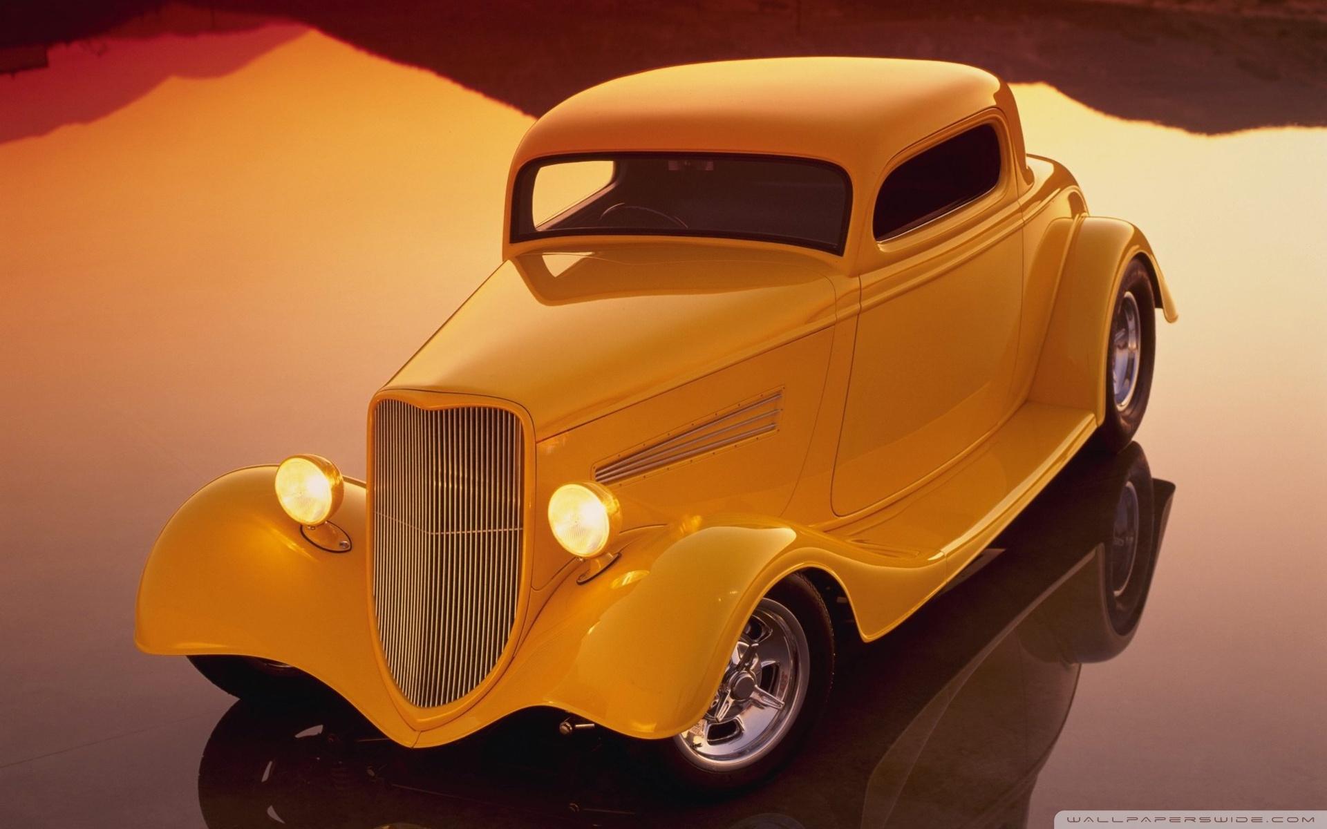 Classic Hot Rod - HD Wallpaper