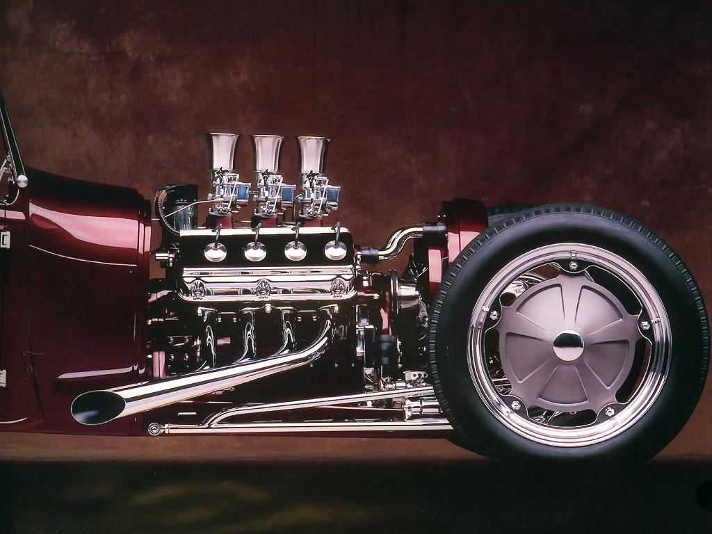 Hot Rods 1929 Ford Roadster Pickup - Open-wheel Car - HD Wallpaper