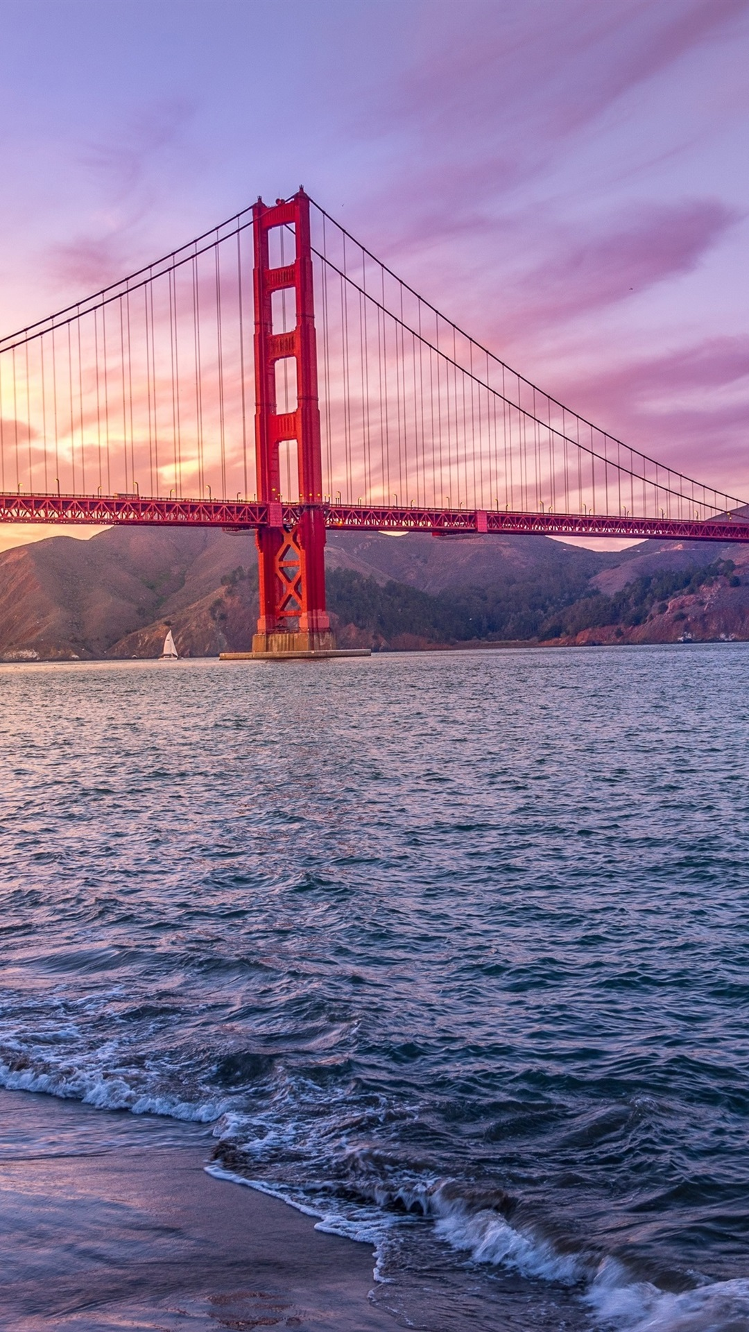 Iphone Wallpaper Golden Gate Bridge, California, Usa, - Golden Gate Bridge Phone - HD Wallpaper