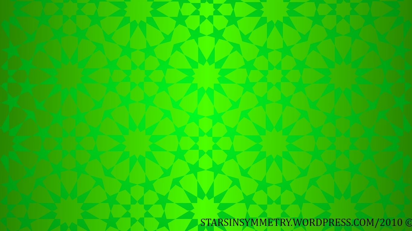 Green Islamic Background   Background Islamic Art Hijau   20x20 ...