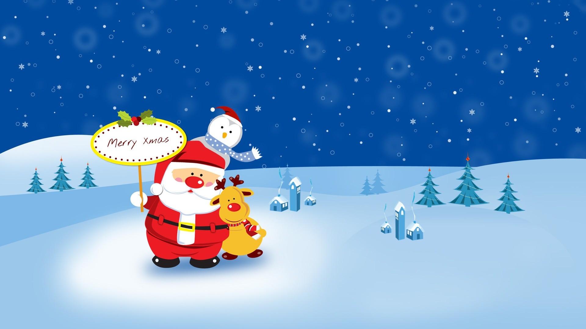 1920x1080, Animated Christmas Wallpaper   Data Id 36101 - Cute Animated Christmas Backgrounds - HD Wallpaper