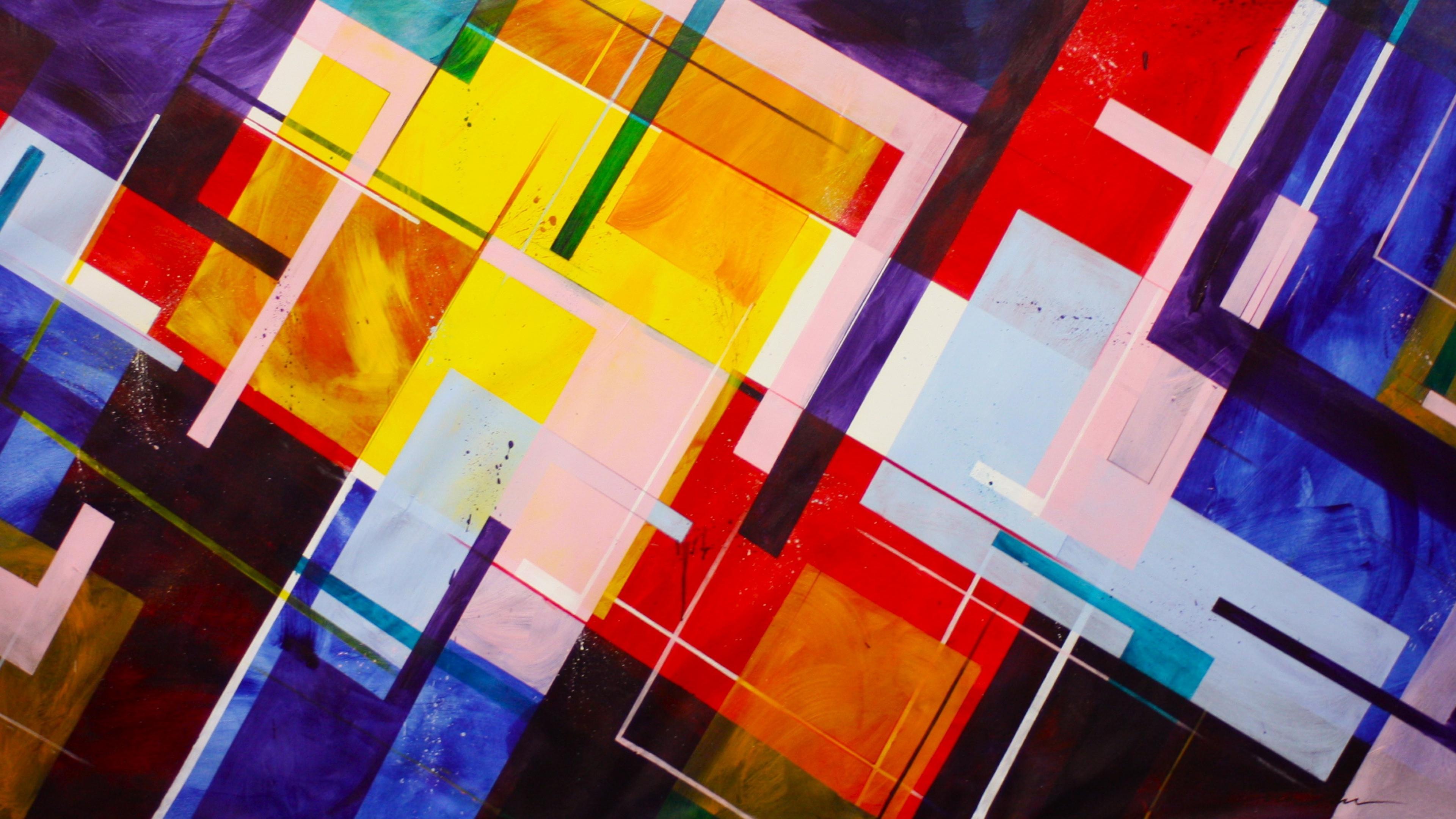 Digital Modern Abstract Art - HD Wallpaper