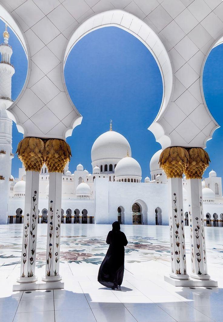 Muslim Girls Islamic Wallpers In Hijab For Dp - Sheikh Zayed Mosque - HD Wallpaper