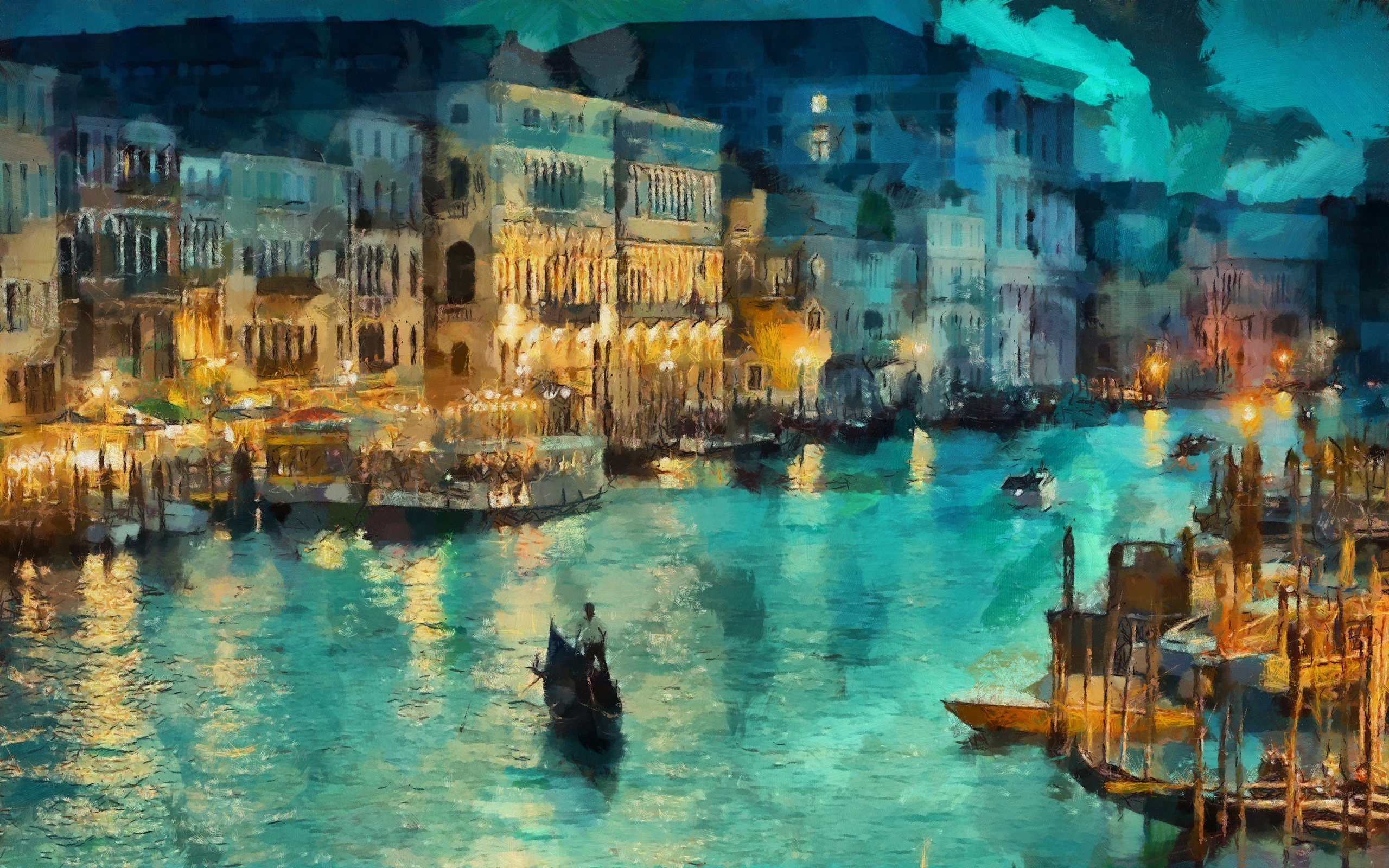 50 Beautiful Painting Art To Get Inspire - Oil Painting Wallpaper 4k - HD Wallpaper
