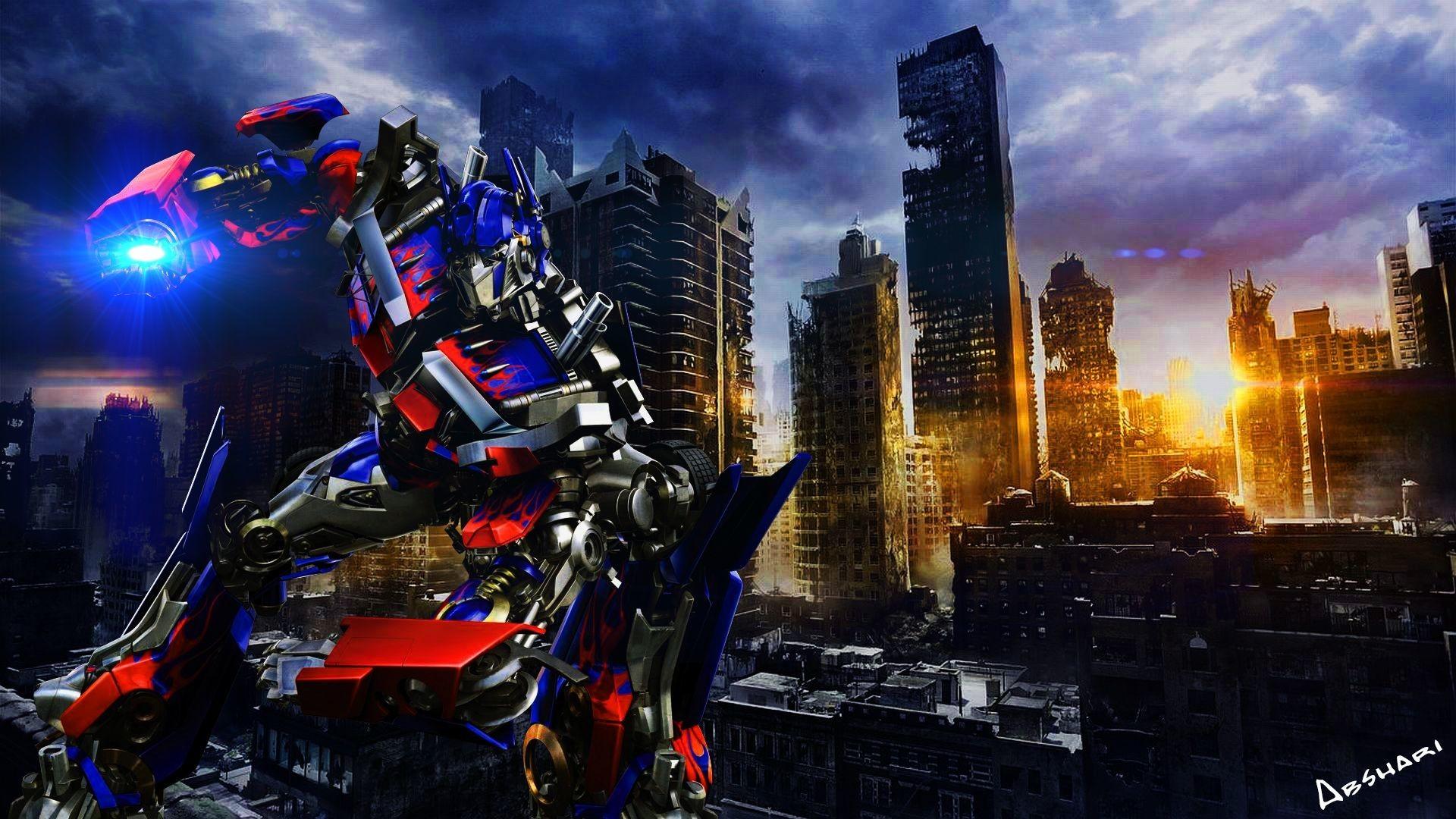 1920x1080, Transformers Optimus Prime Hd Desktop Wallpaper - Optimus Prime Background - HD Wallpaper