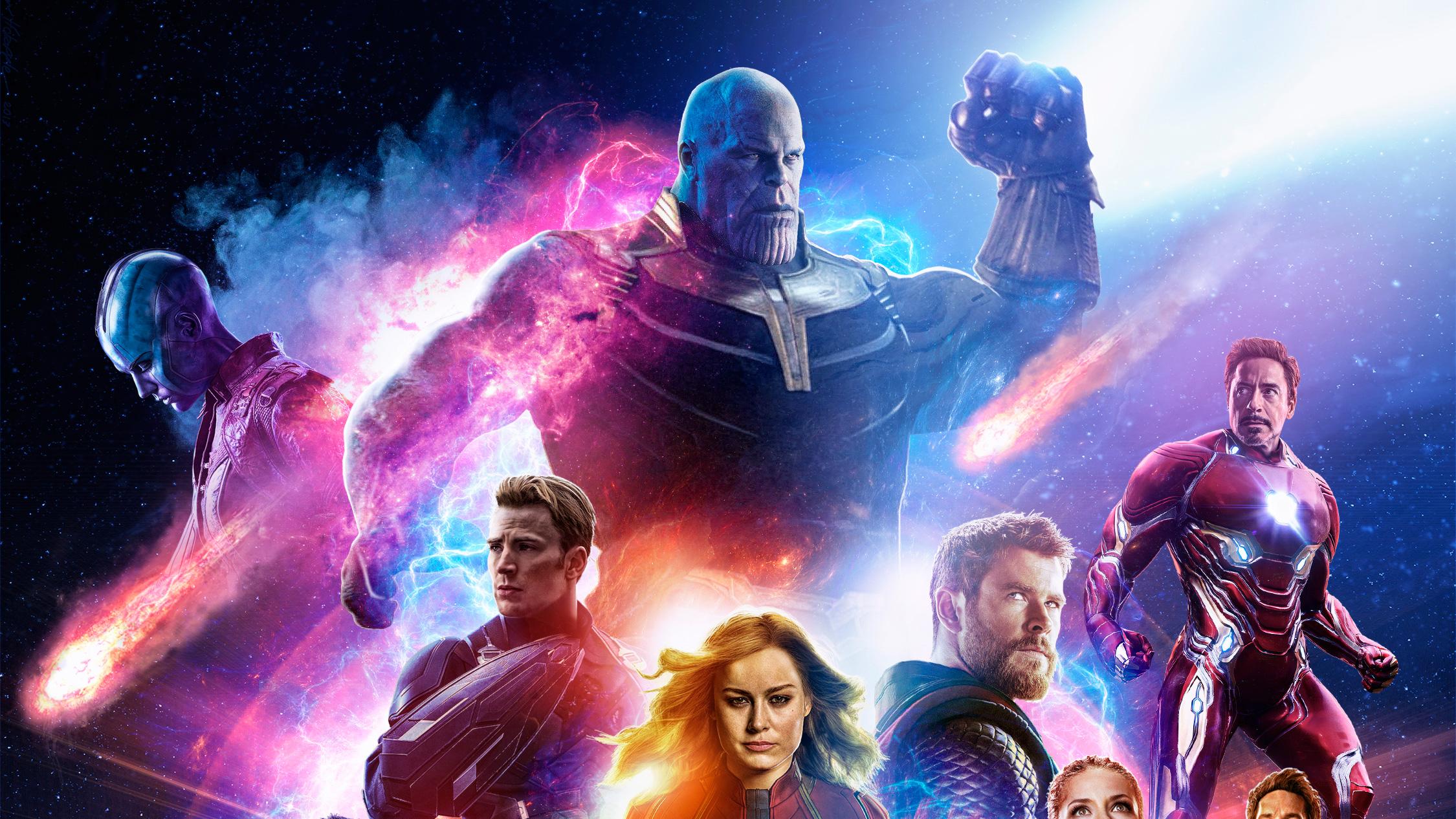 Avengers Endgame Wallpaper Gif 2250x1266 Wallpaper Teahub Io