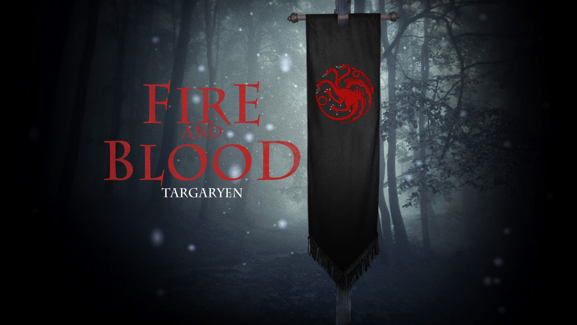 House Targaryen Game Of Thrones Trailer Wallpaper With - Targaryen Iphone Wallpaper Game Of Thrones - HD Wallpaper