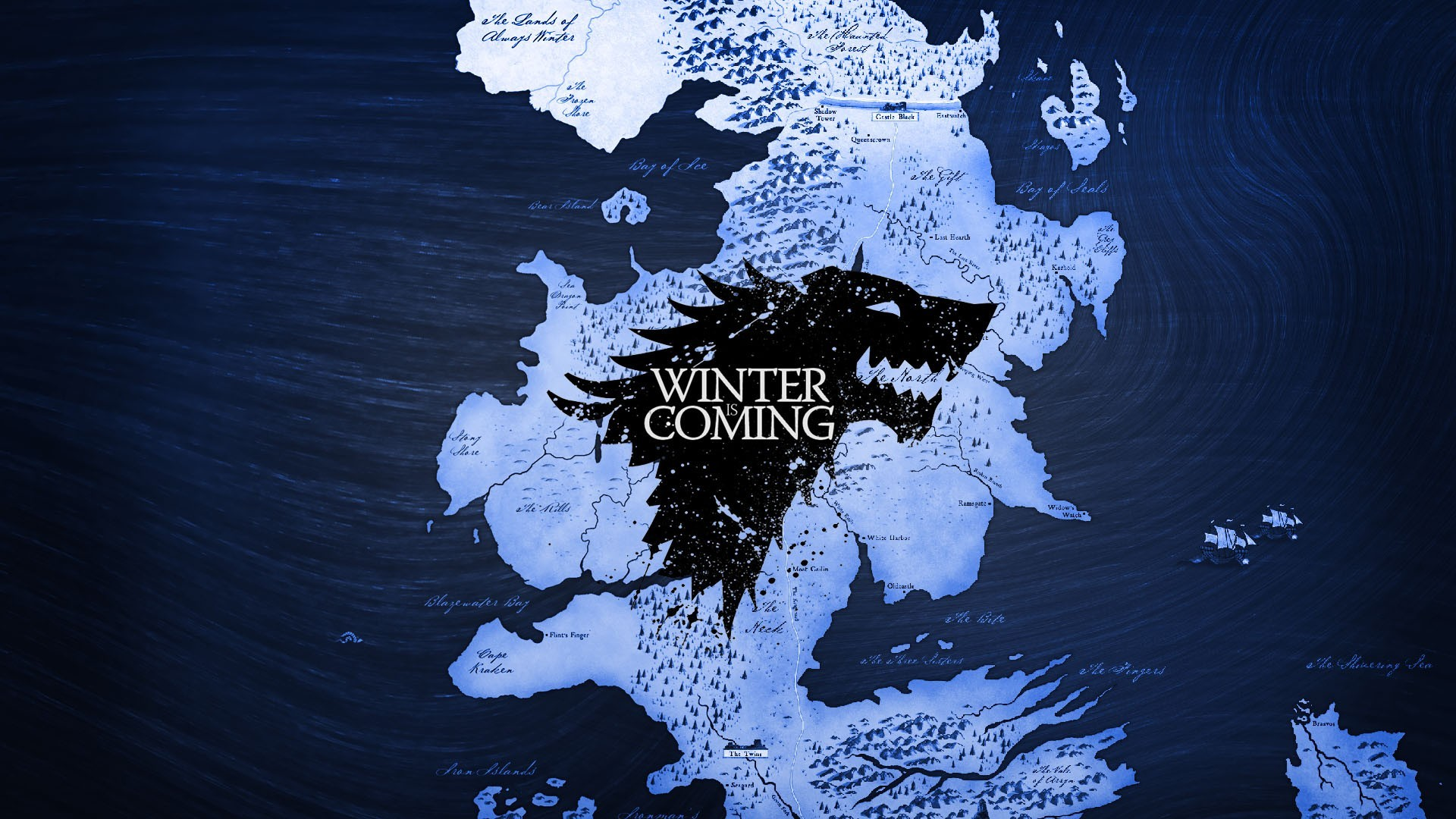 Game Of Thrones Wallpapers - Game Of Throne Mapa - HD Wallpaper