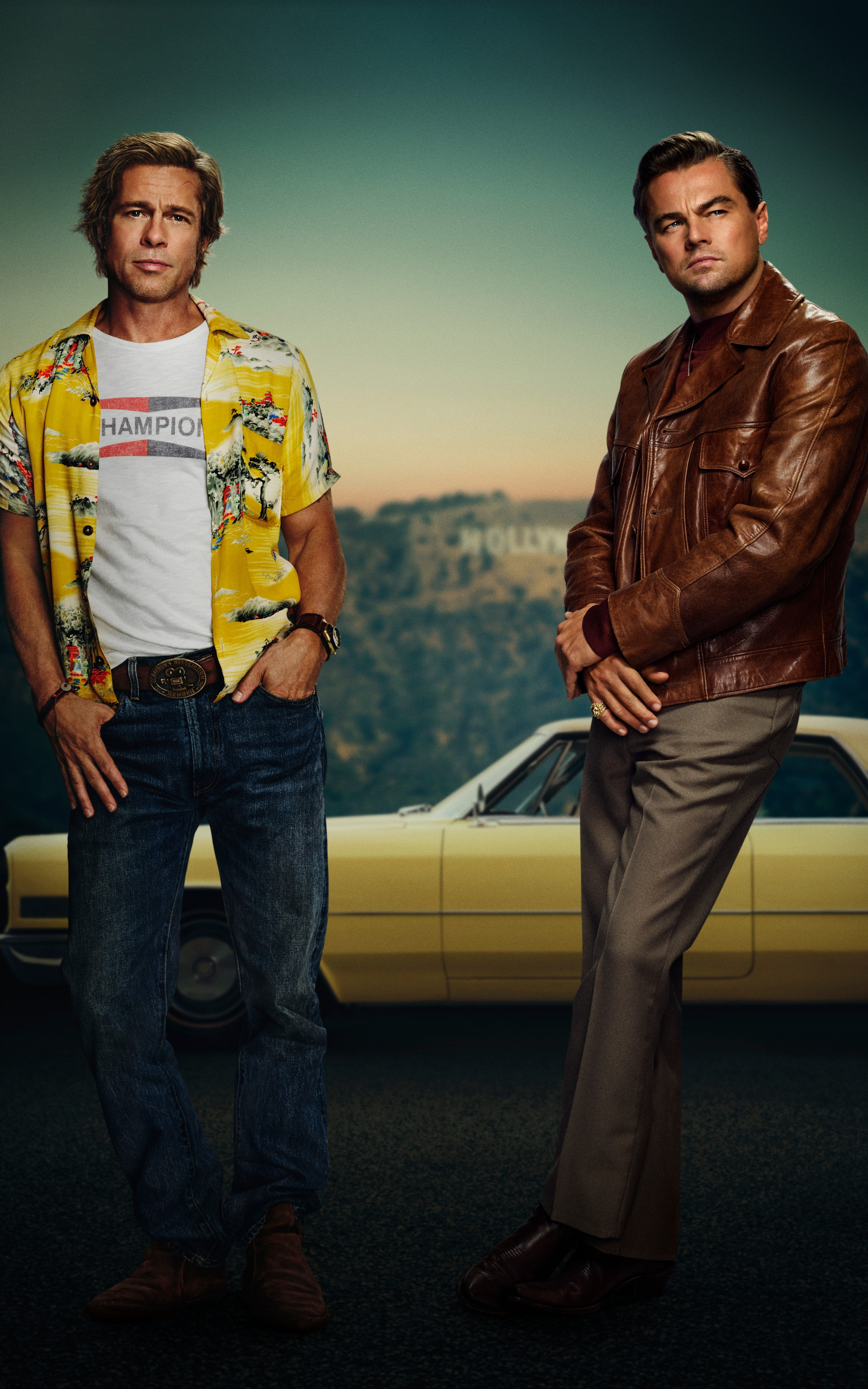 Stunning Once Upon A Time In Hollywood Wallpaper