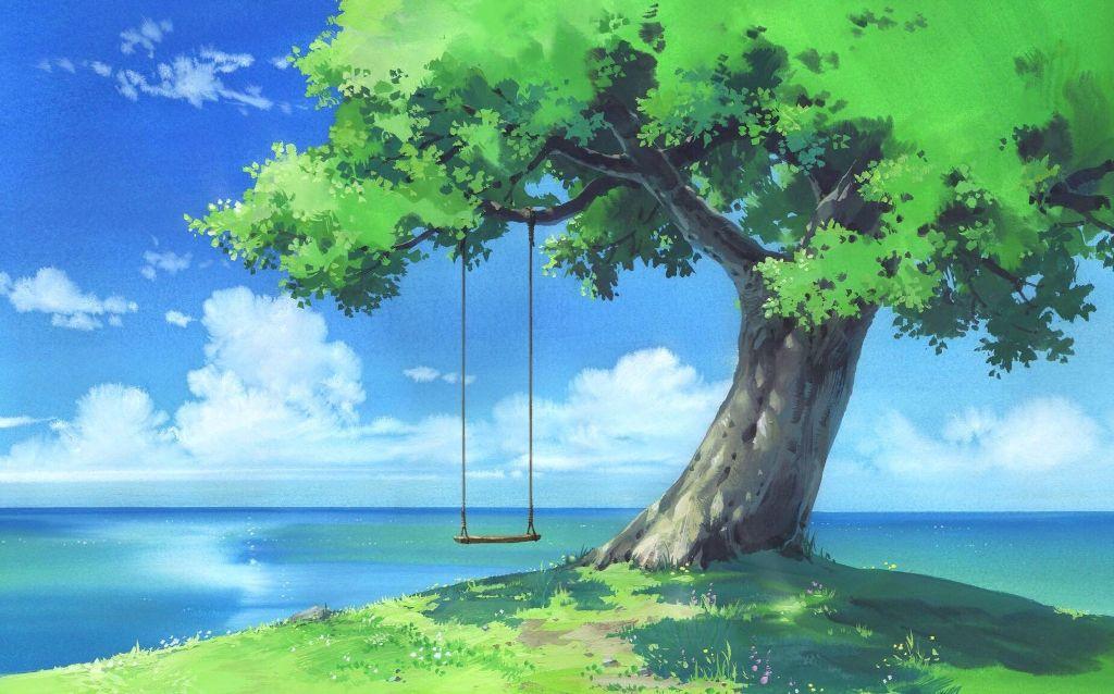 Anime Scenery - HD Wallpaper