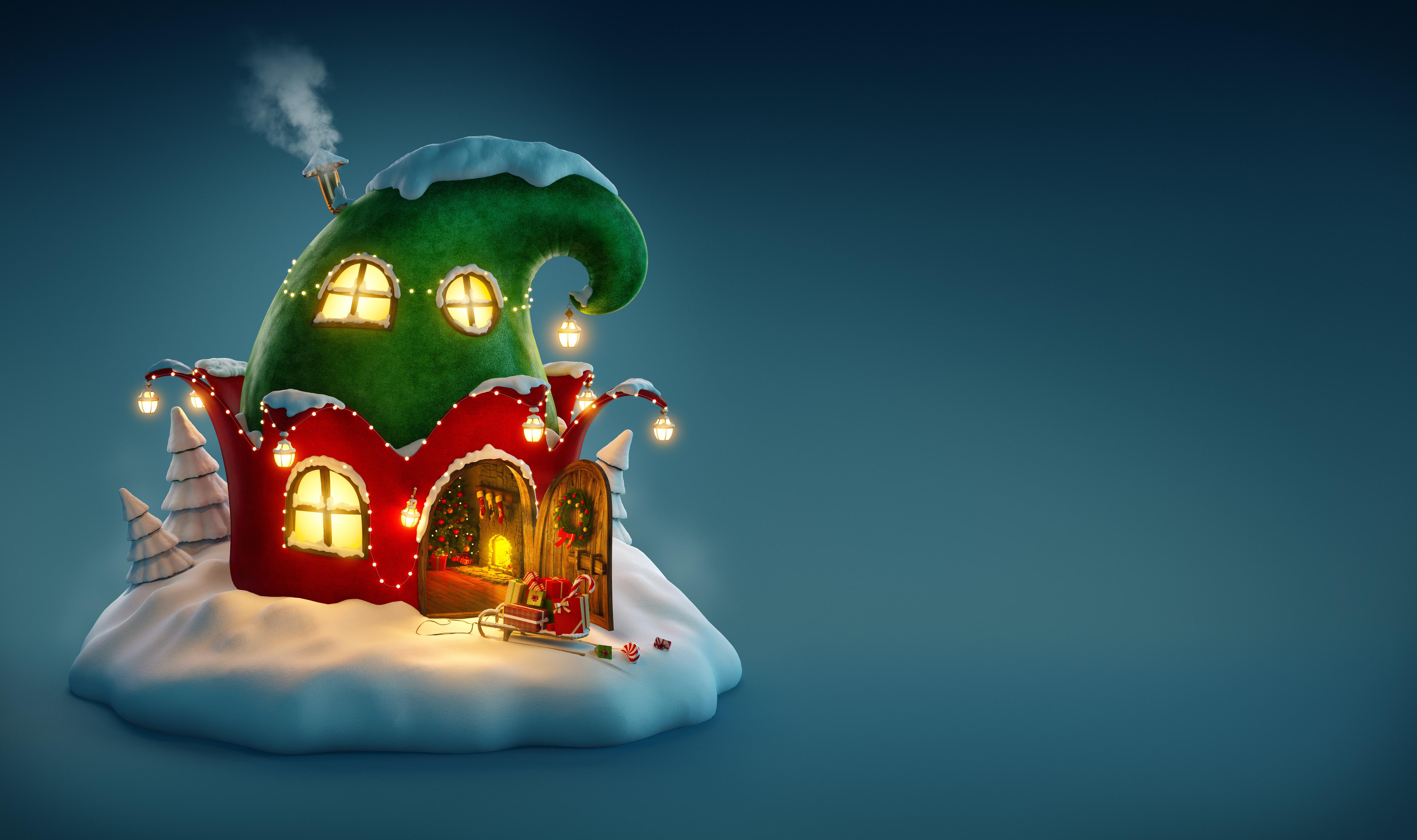 Christmas Elves Wallpaper Hd ...