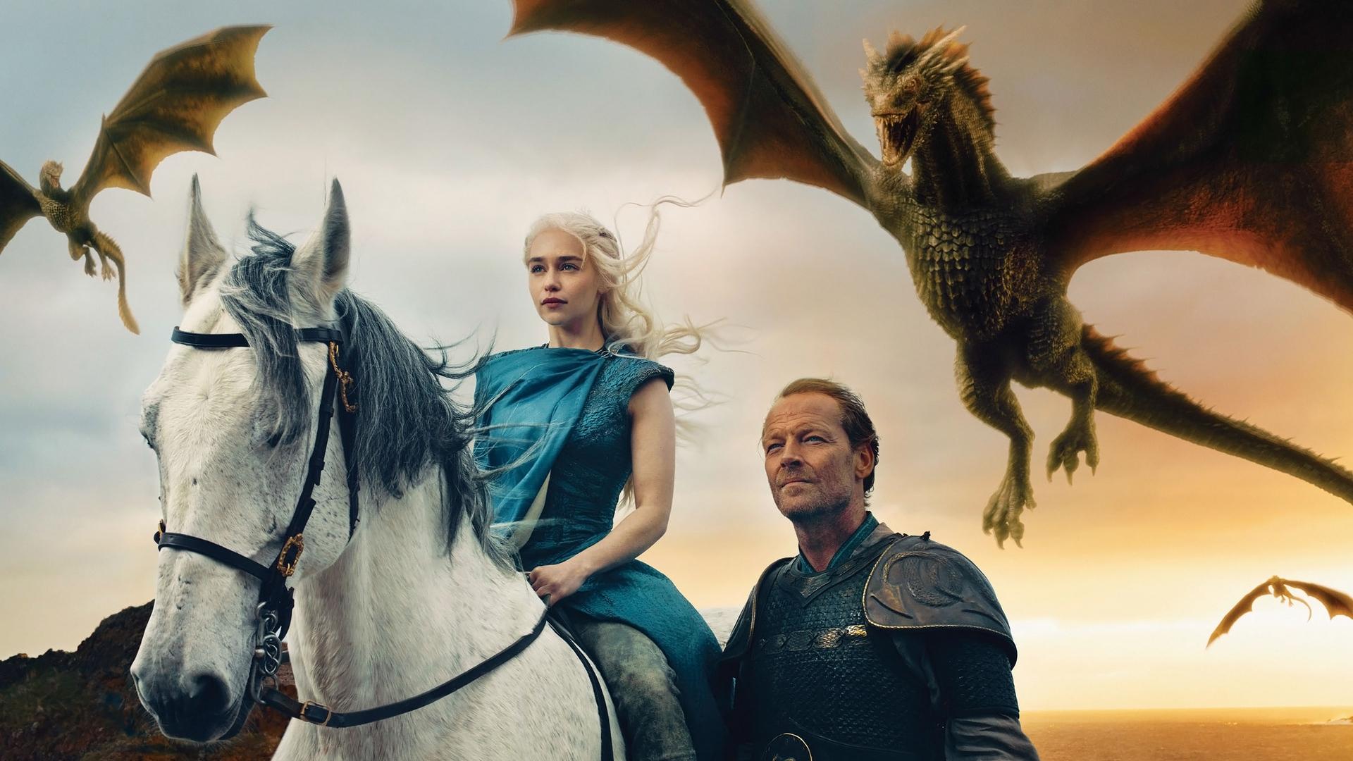 Wallpaper Game Of Thrones, Daenerys Targaryen, Emilia - Game Of Thrones Daenerys Background - HD Wallpaper